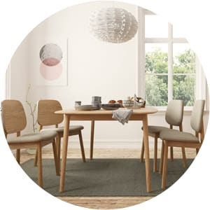 Kaneko scandinavian dining table