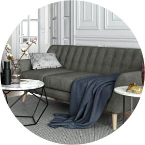Retro mid century sofas