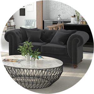 Notting hill black sofa
