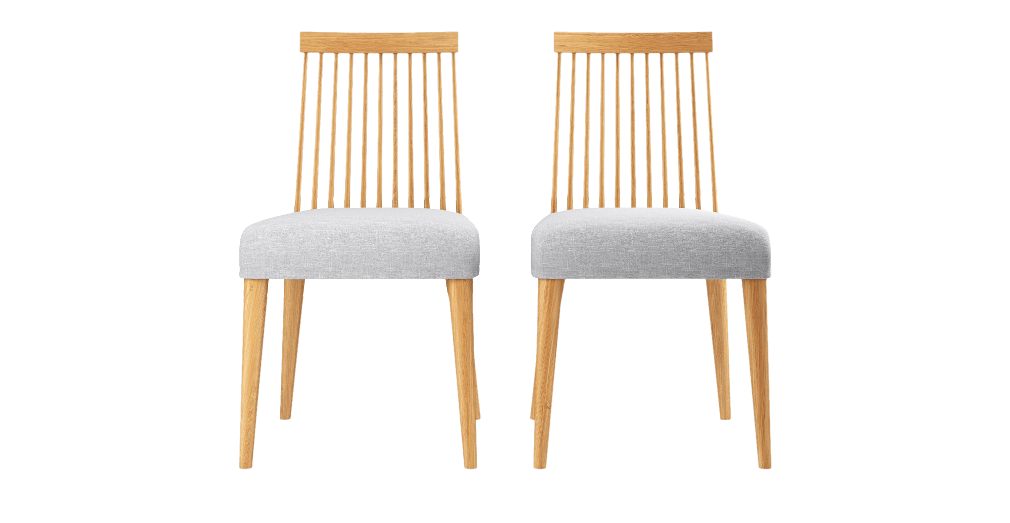 Buy Elizabeth 2 x Windsor Spindle Back Chairs line Brosa