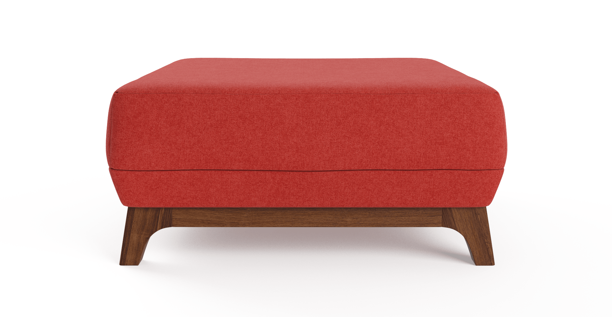 john ottoman - john ottoman  burnt orange change