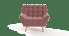 Armchair pia blush pink