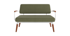 Lustig lounge chair periodot olive