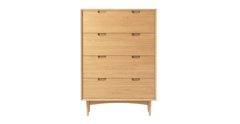 Chest of drawer large ethan oak