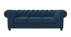 3.5 seater sofa camden atlantic blue