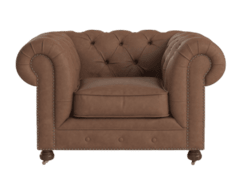 Camden chesterfield leather armchair