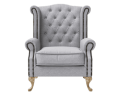 Nottage grey armchair