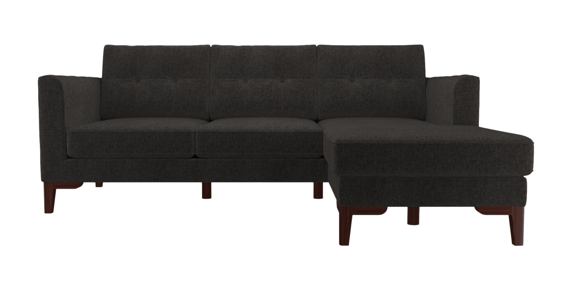 2 Seater Right Hand Chaise Sofa