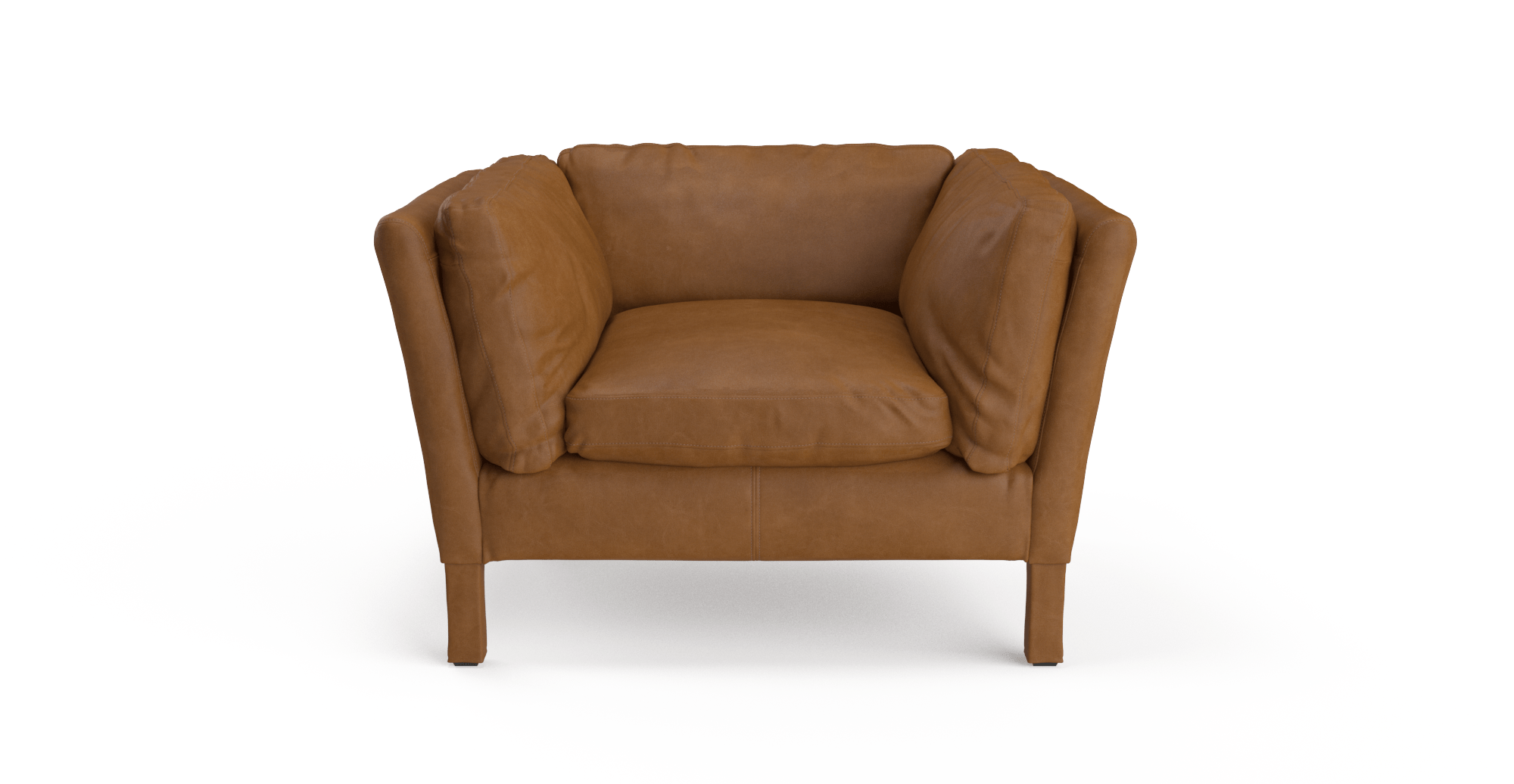 Buy Miles Leather Armchair line in Australia