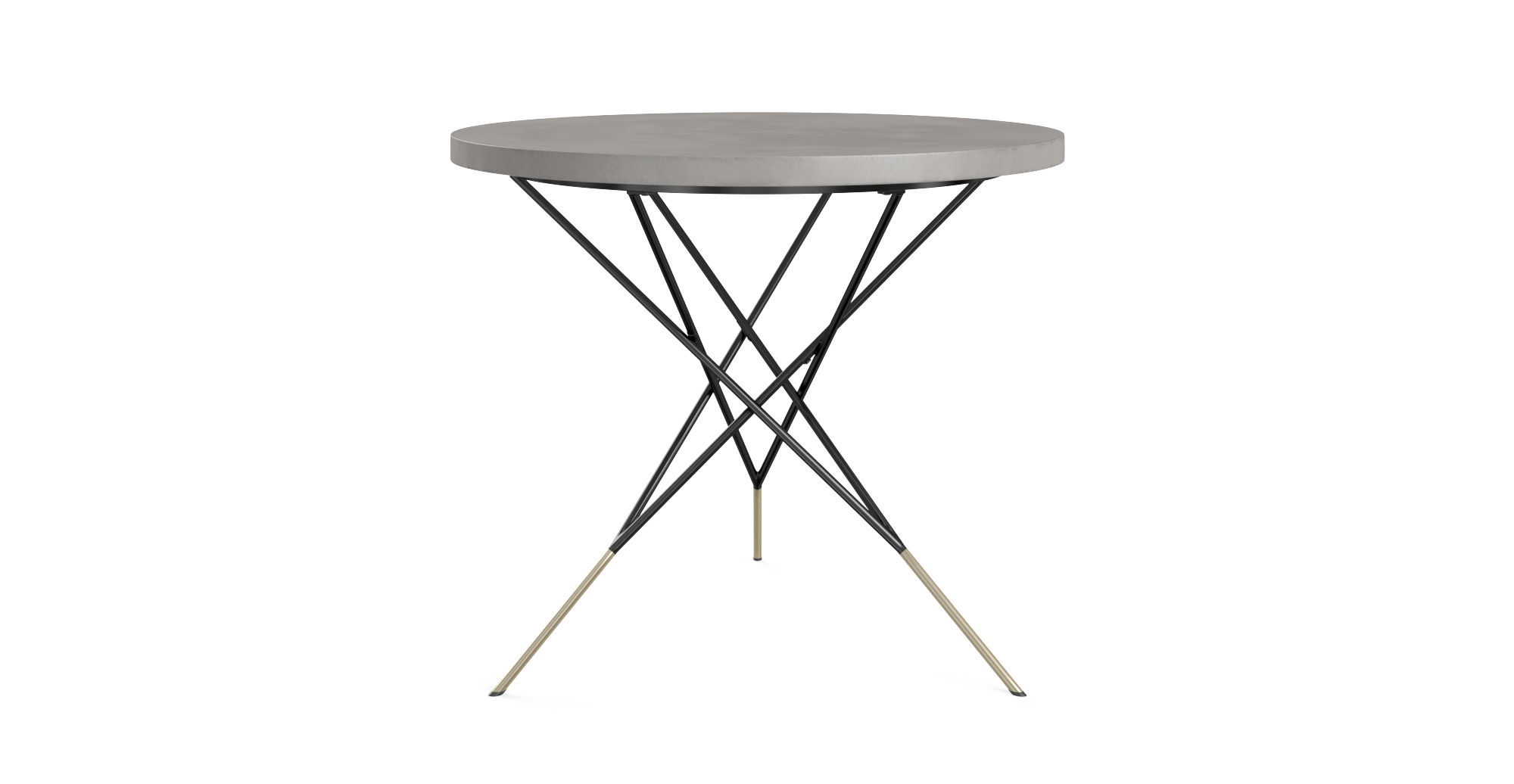 Outdoor round dining table - Smeaton Outdoor Round Dining Table