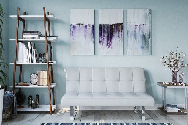 Statement pieces in a designed space