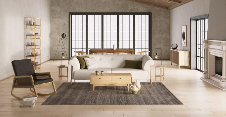 Wabi Sabi Living Room