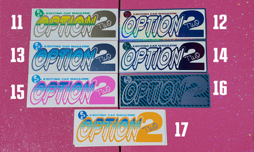 Option2 Sticker Set 2