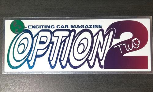 Option 2 Maziora sticker