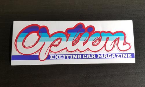 Option Bumper Sticker