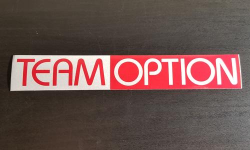 Team Option Sticker
