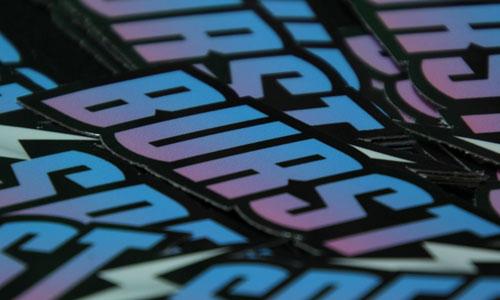 Burstspeed Standard Logo Sticker