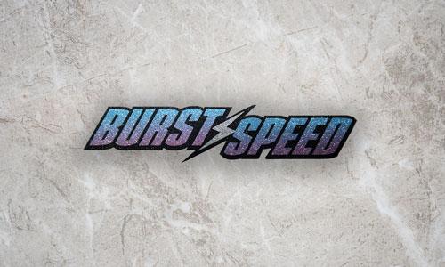 Burstspeed Standard Logo Sparkle