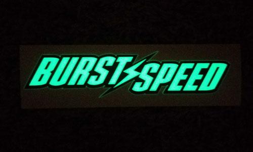 Burstspeed Standard Logo Glow in the Dark
