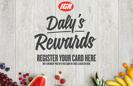Dalys IGA Rewards Card