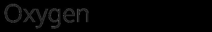 Oxygen typeface