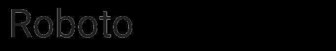 Roboto typeface