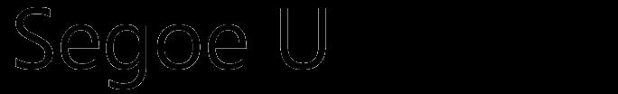 Segoe UI typeface