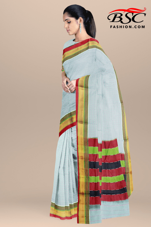 COTTON ILKAL SAREE
