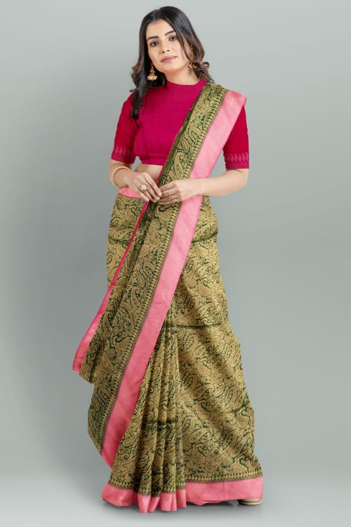 FANCY BANARASI SAREE