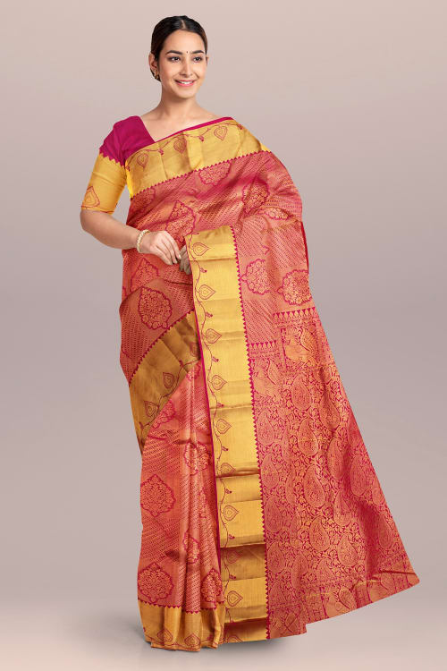 PURE SILK JACQUARD SAREE