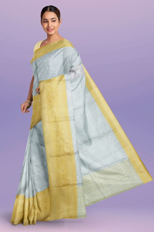 FANCY TISSUE SAREE