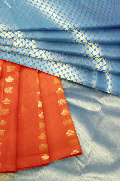 ART SILK PATLI PALLU SAREE