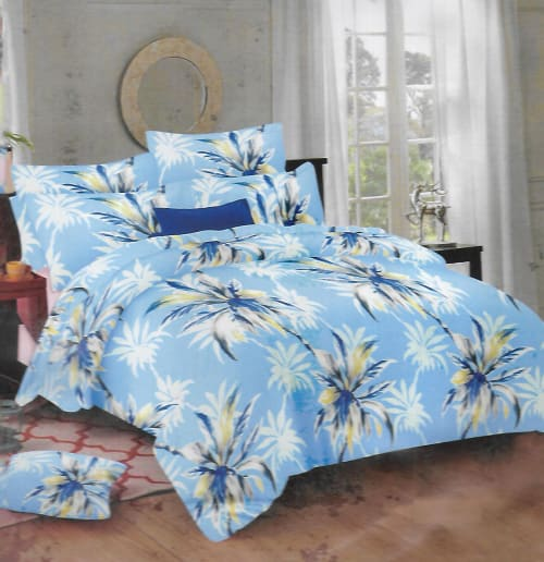 DOUBLE BED SHEET WITH PILLOW COVERS