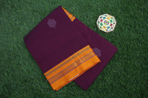 FANCY ILKAL COTTON SAREE