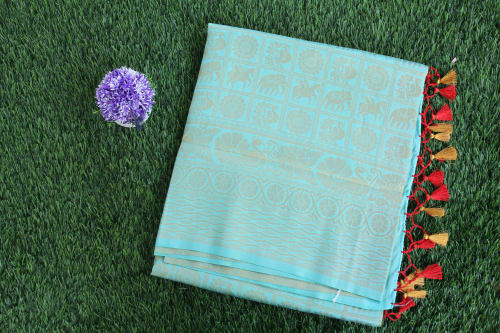 FANCY SOFTY BANARASI SILK SAREE