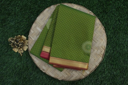 ART SILK EMBOSS SAREE