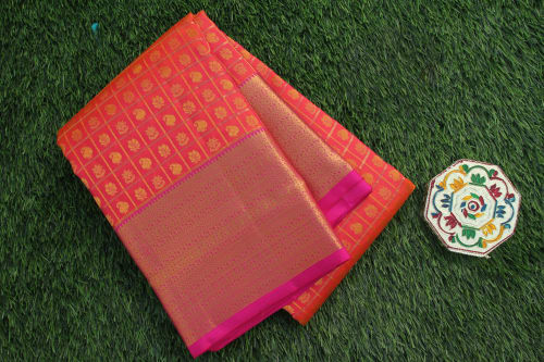 KANCHIPURAM PURE SILK WEDDING SAREE