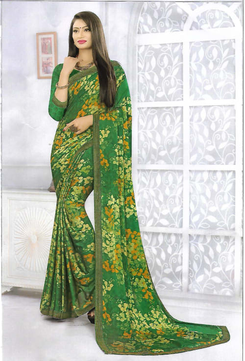 PRODUCT NAME: FANCY SYNTHETIC SAREE