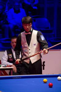 Sung Won CHOI Dreiband Weltmeister 2014
