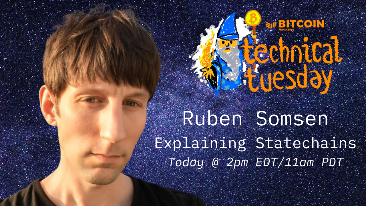 Carrot Code: Explaining Statechains with Ruben Somsen #TechnicalTuesday