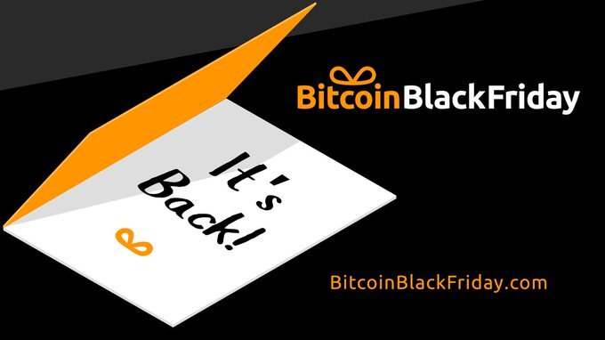 Subscribe to Bitcoin Black Friday Newsletter