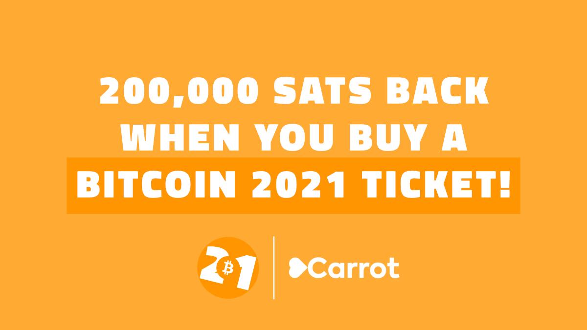 Bitcoin 2021 Sats Rebate