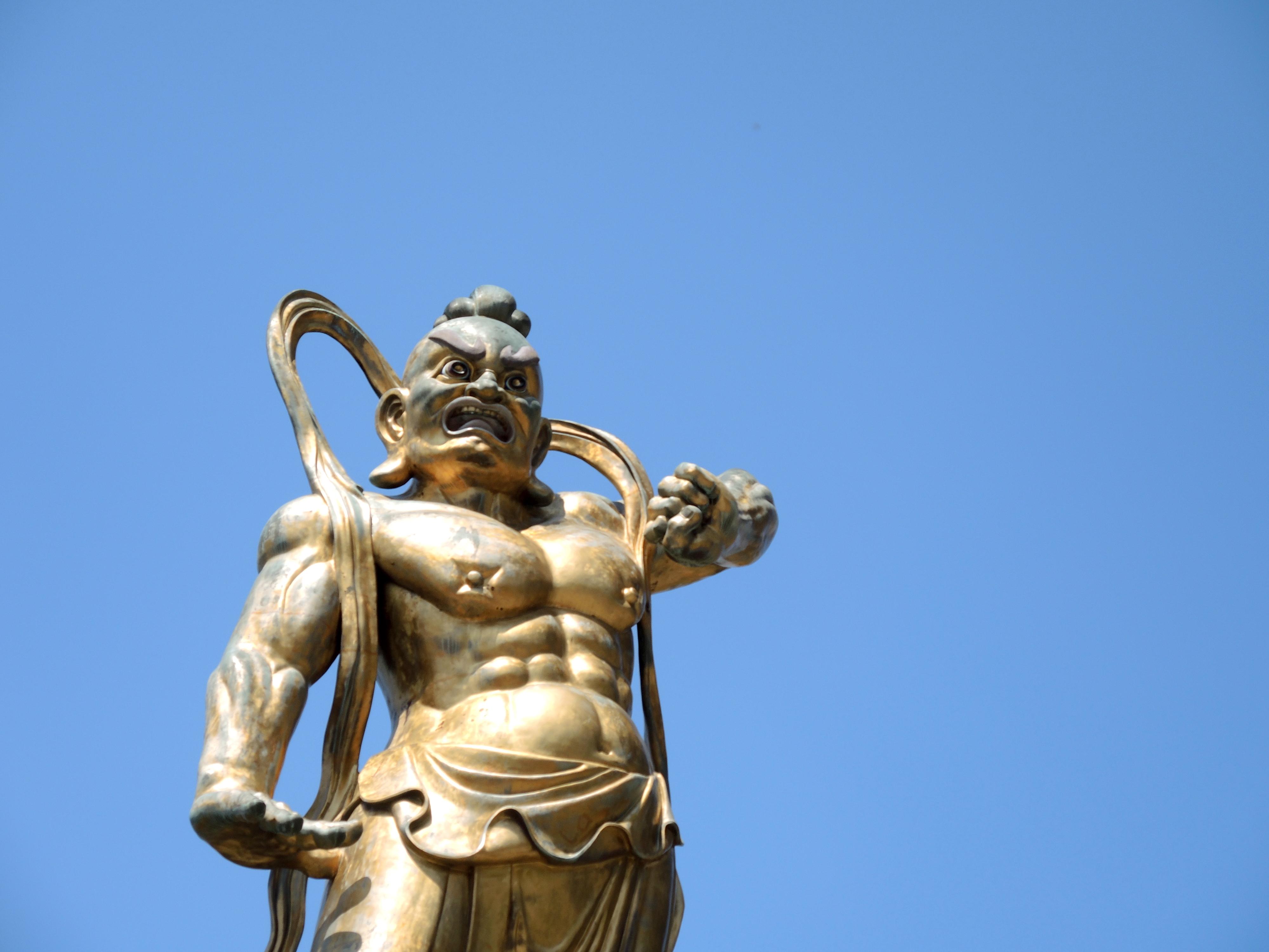 Malaysian Temple Statue