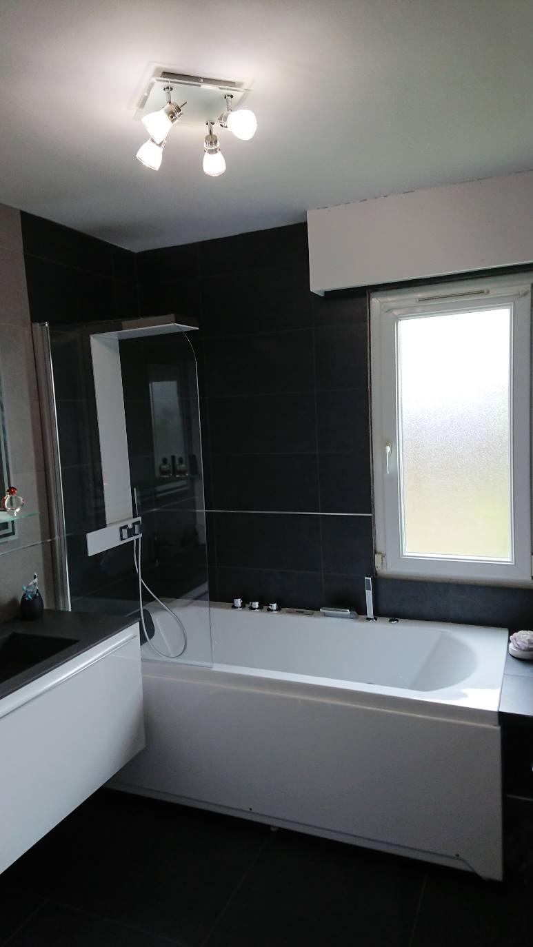 Réalisation travaux BTM-PRO rénovation salle de bain complète