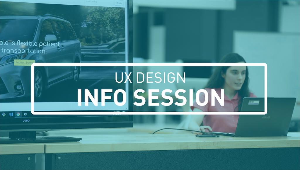 UX Design Info Session Image