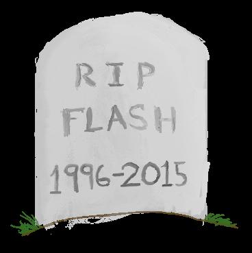 R I P Flash