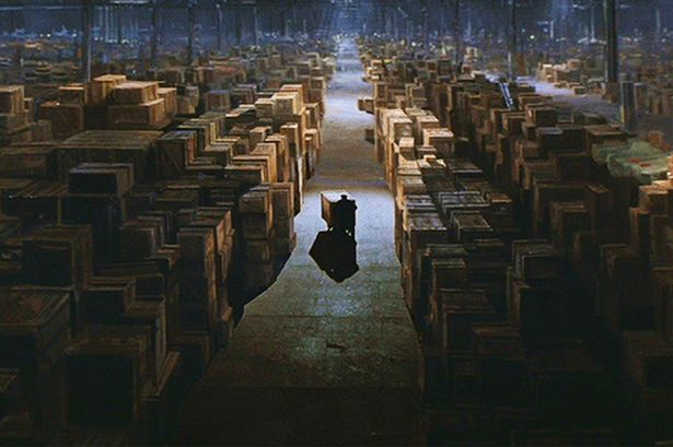 Warehouse from Raiders of the Lost Ark