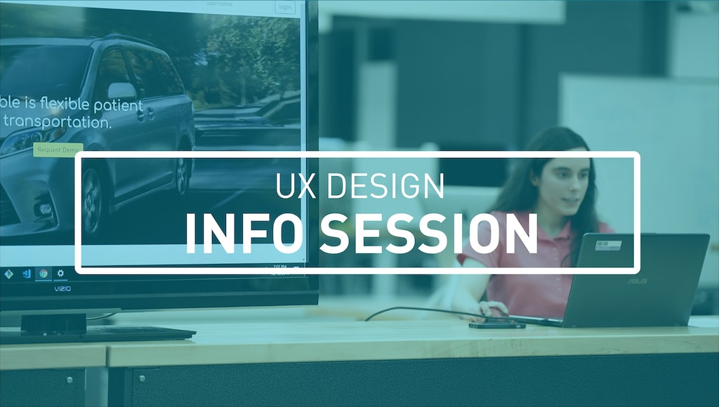 UX Design Info Session Image