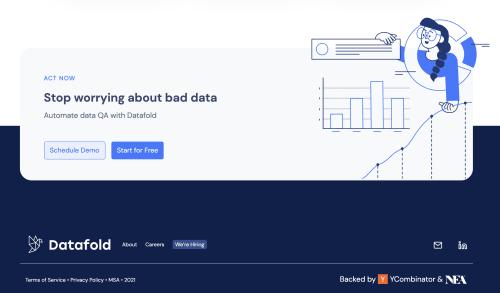 Datafold  screenshot