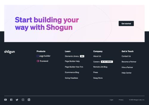 Shogun  screenshot